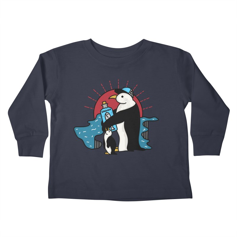 Cold Gin Time Again Kids Toddler Longsleeve T-Shirt by darruda's Artist Shop