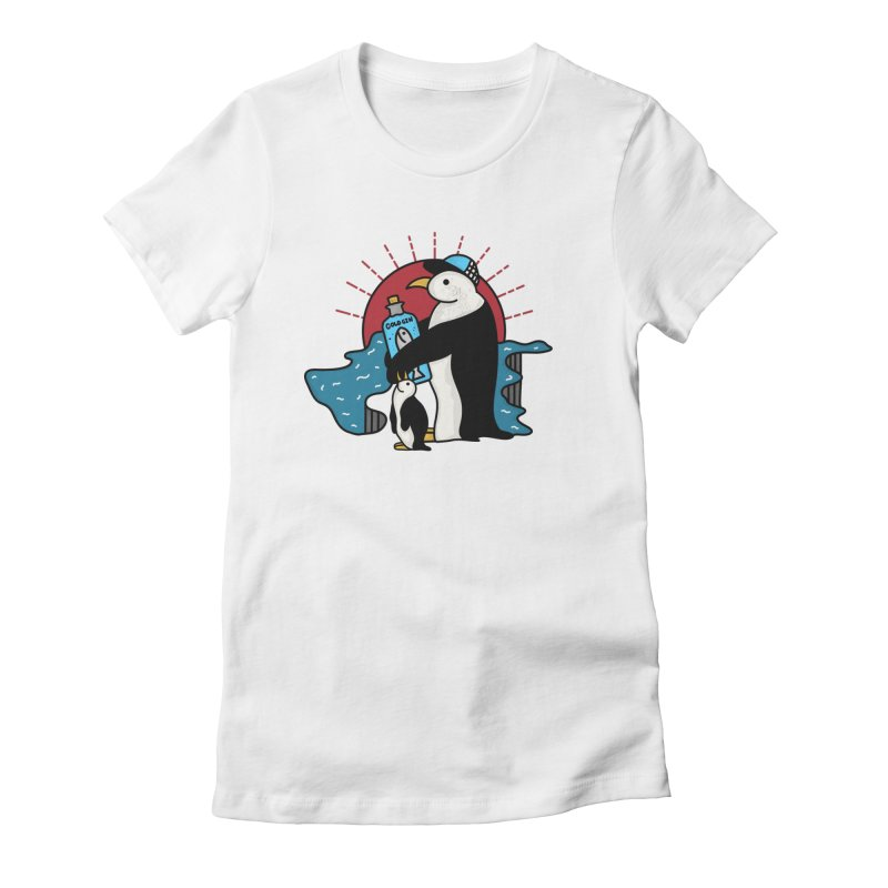 Cold Gin Time Again Women's Fitted T-Shirt by darruda's Artist Shop