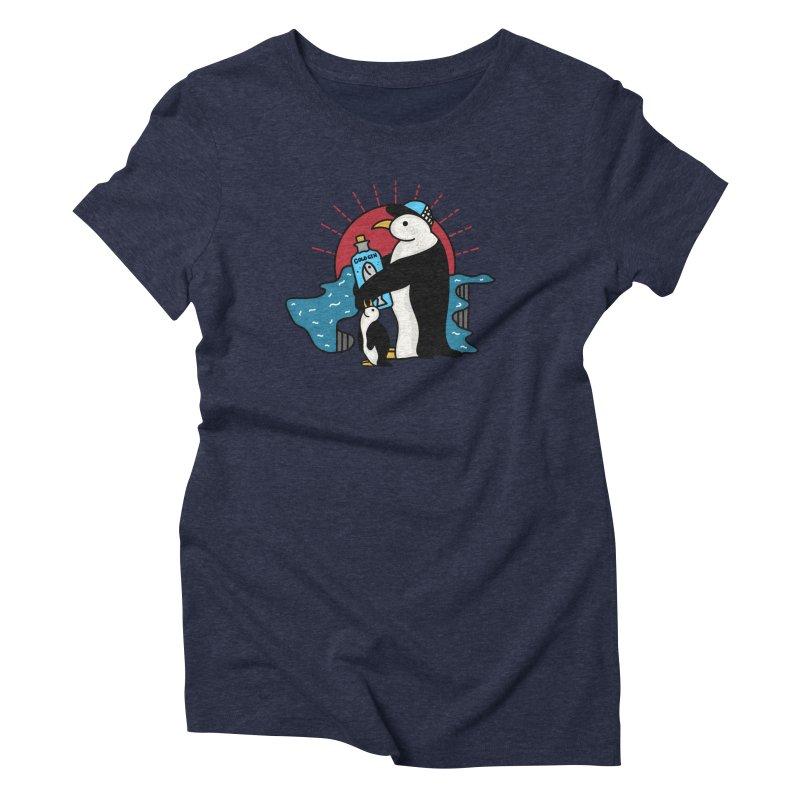 Cold Gin Time Again Women's Triblend T-Shirt by darruda's Artist Shop