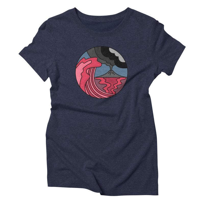 Loving Lava Women's Triblend T-Shirt by darruda's Artist Shop
