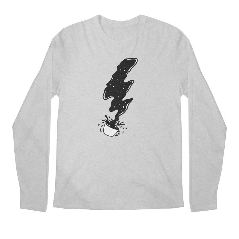 Black Coffee Men's Longsleeve T-Shirt by darruda's Artist Shop