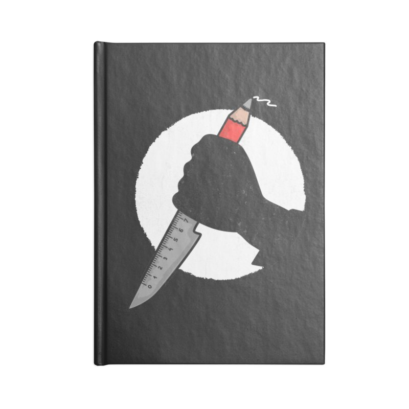 Creative Psycho Accessories Notebook by darruda's Artist Shop