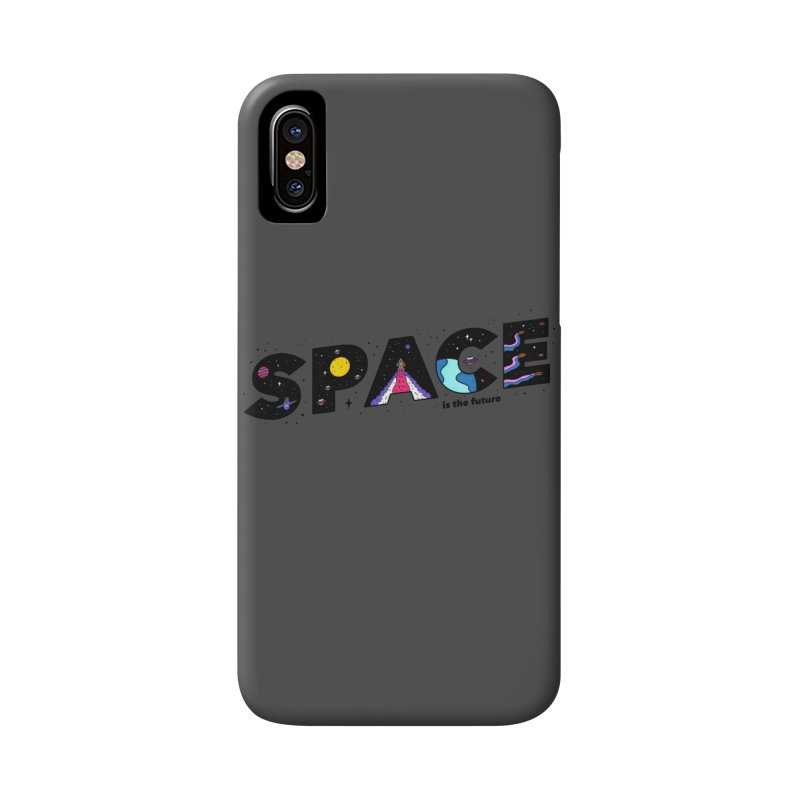 Space is the Future Accessories Phone Case by darruda's Artist Shop