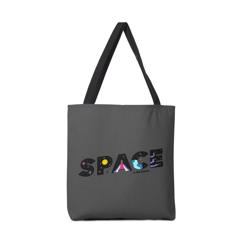 Space is the Future Accessories Bag by darruda's Artist Shop