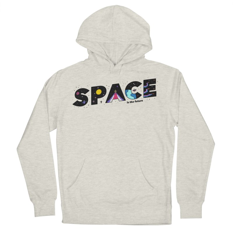 Space is the Future Men's Pullover Hoody by darruda's Artist Shop