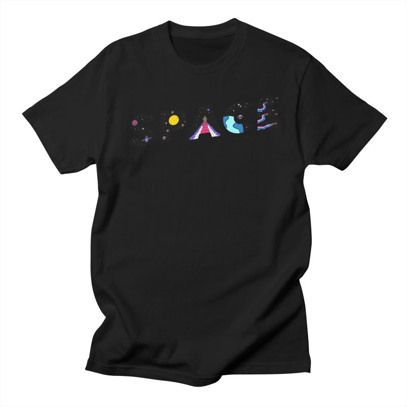Space is the Future Men's T-Shirt by darruda's Artist Shop