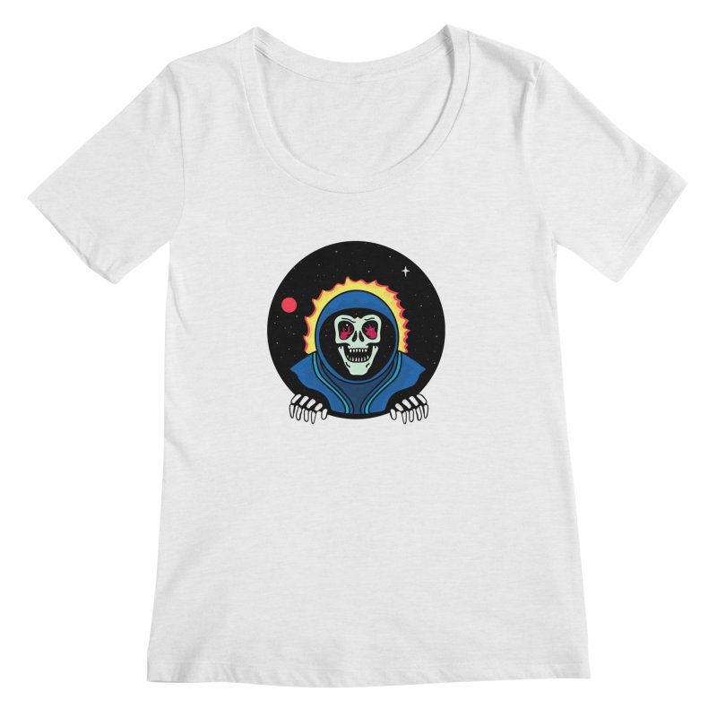 Space Ghost Women's Regular Scoop Neck by darruda's Artist Shop