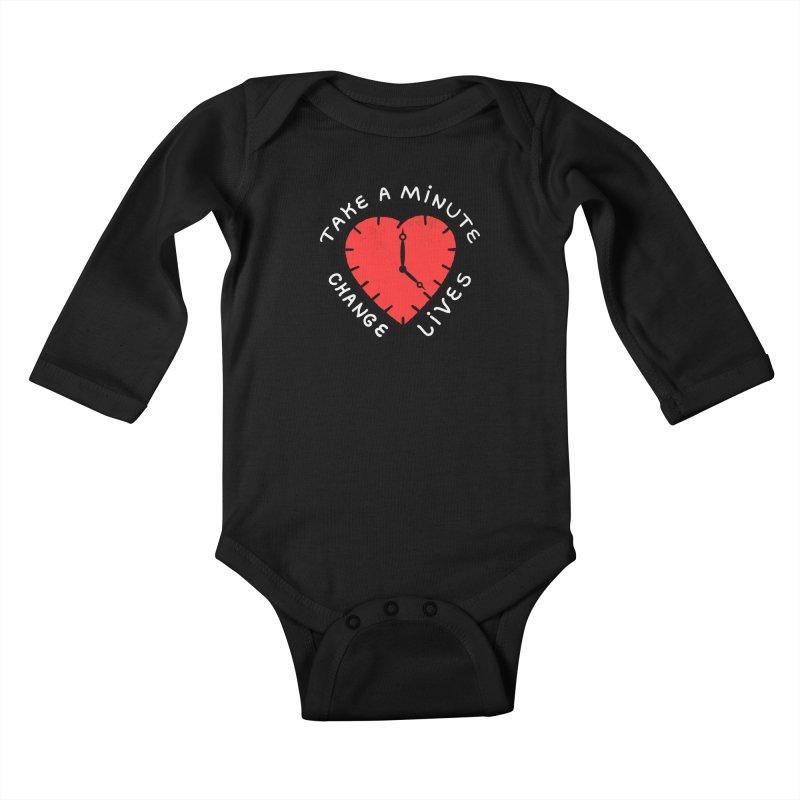 Change Lives Kids Baby Longsleeve Bodysuit by darruda's Artist Shop