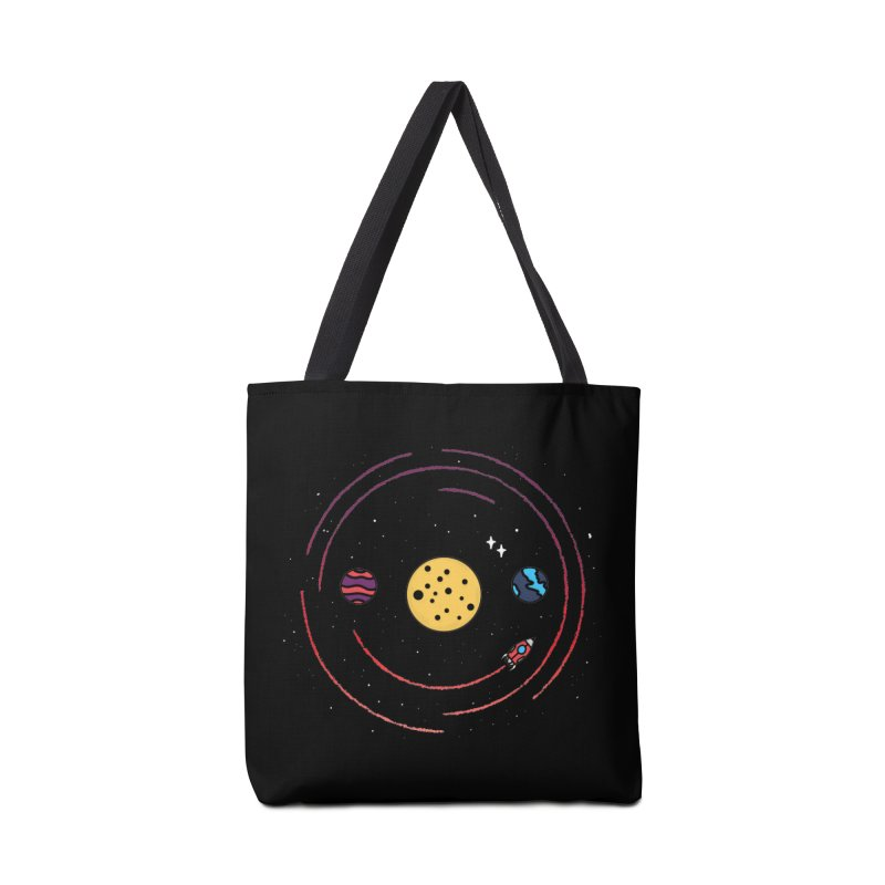 Smile, You're in Space Accessories Tote Bag Bag by darruda's Artist Shop