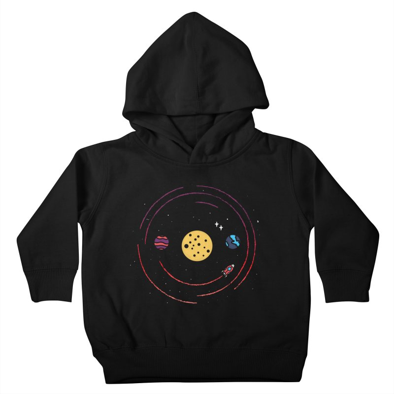 Smile, You're in Space Kids Toddler Pullover Hoody by darruda's Artist Shop