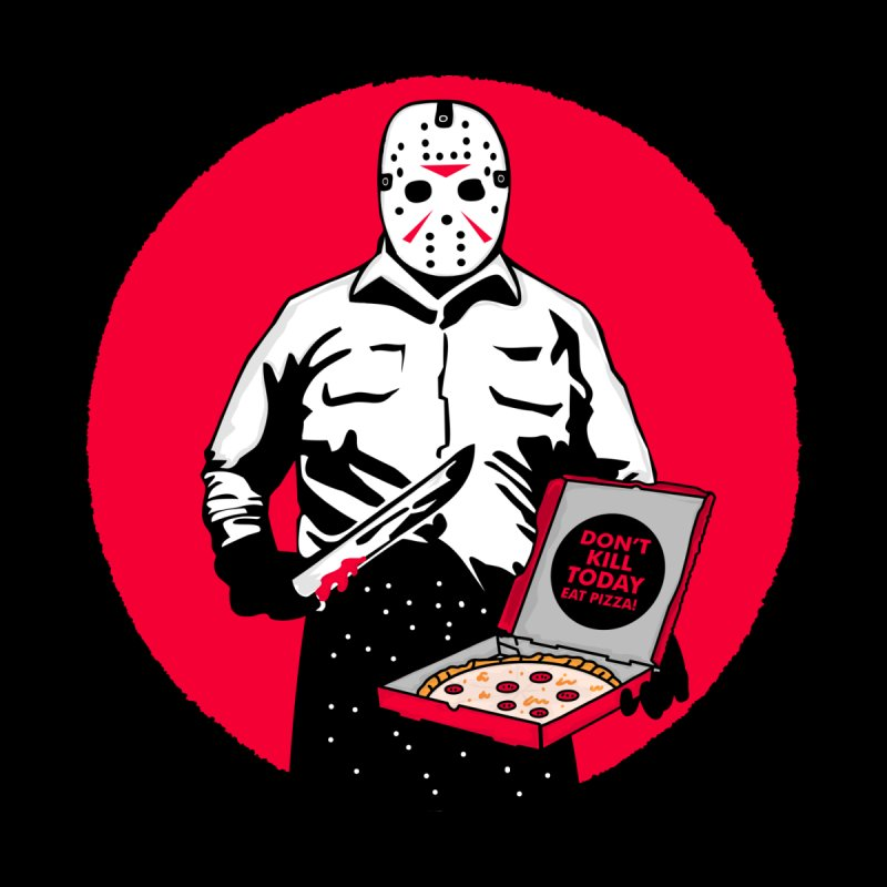 Jason's Pizza by darruda's Artist Shop