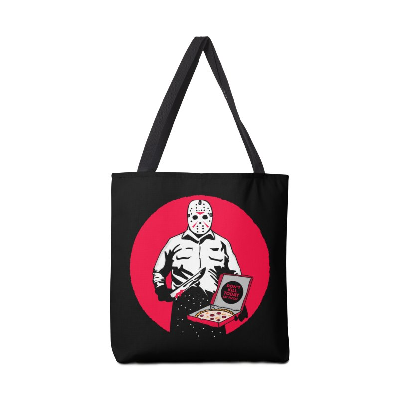 Jason's Pizza Accessories Tote Bag Bag by darruda's Artist Shop