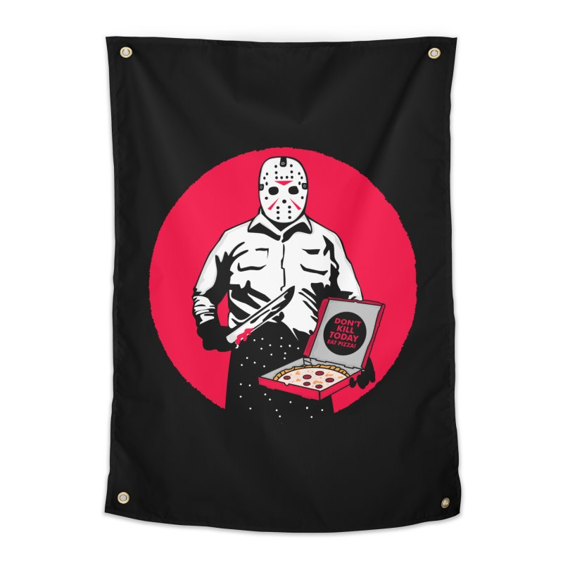 Jason's Pizza Home Tapestry by darruda's Artist Shop