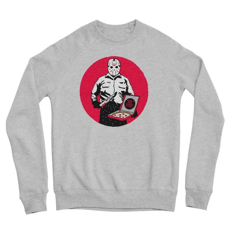 Jason's Pizza Women's Sponge Fleece Sweatshirt by darruda's Artist Shop