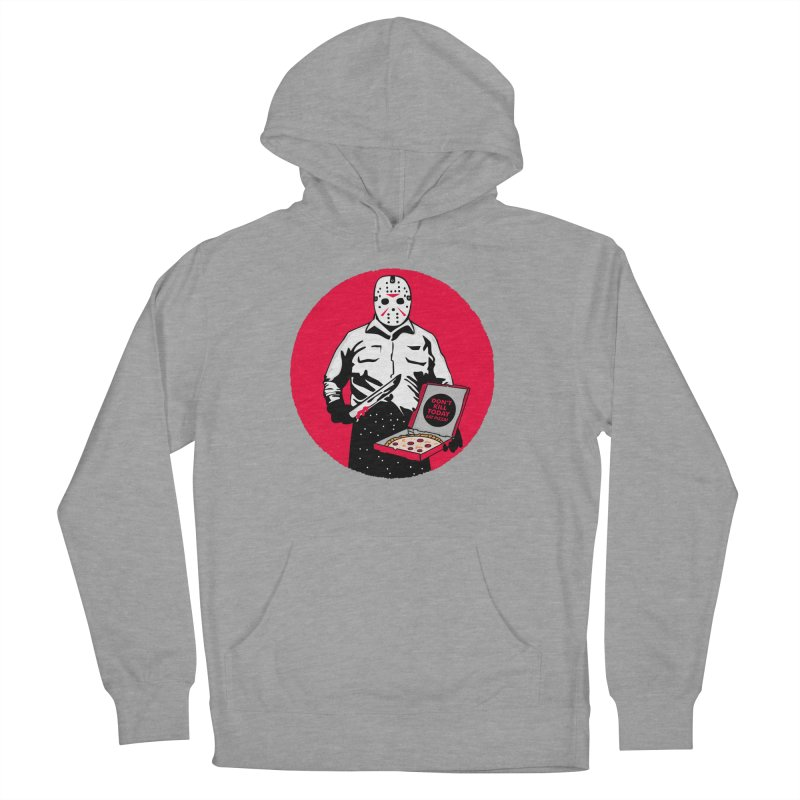 Jason's Pizza Women's French Terry Pullover Hoody by darruda's Artist Shop