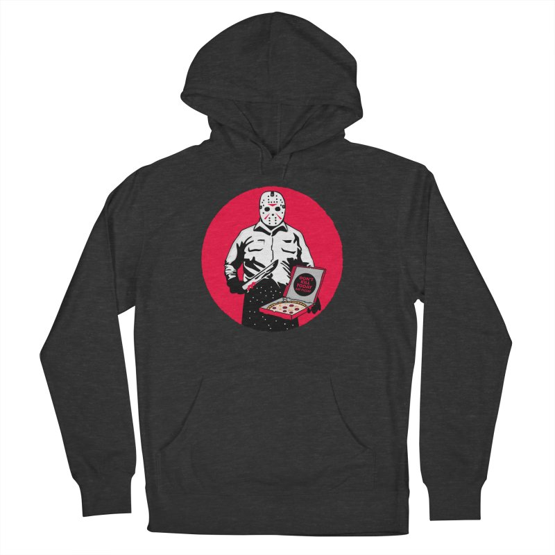 Jason's Pizza Men's French Terry Pullover Hoody by darruda's Artist Shop