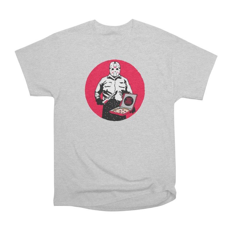 Jason's Pizza Men's Heavyweight T-Shirt by darruda's Artist Shop