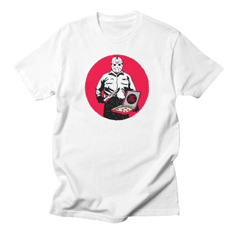 Jason's Pizza Women's Regular Unisex T-Shirt by darruda's Artist Shop
