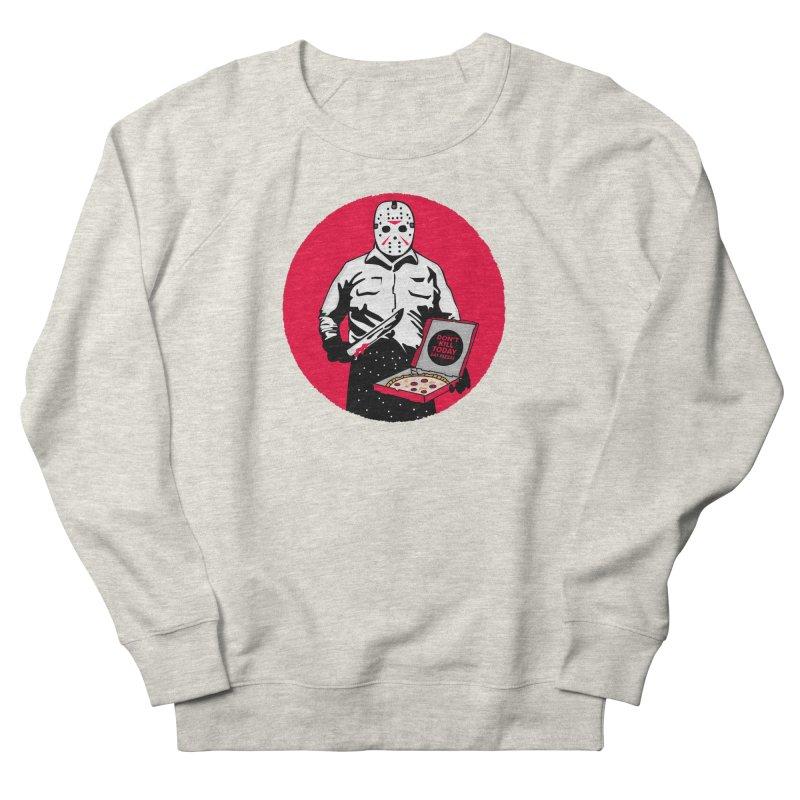 Jason's Pizza Men's French Terry Sweatshirt by darruda's Artist Shop