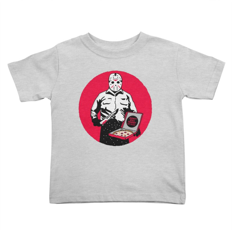 Jason's Pizza Kids Toddler T-Shirt by darruda's Artist Shop