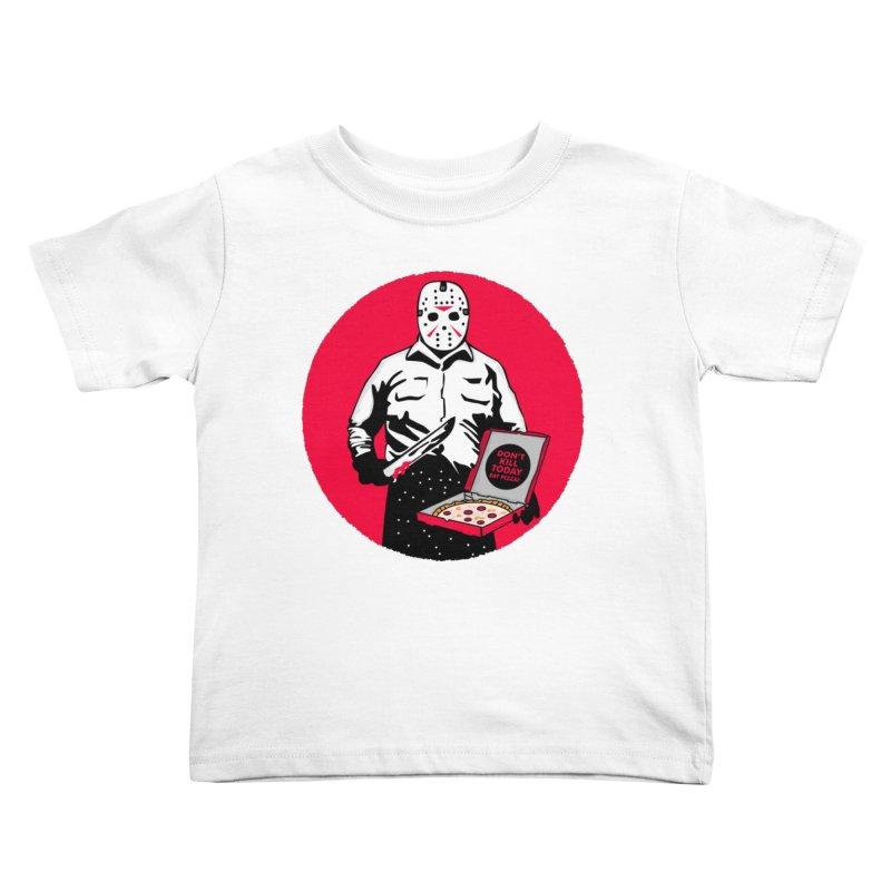 Jason's Pizza Kids Toddler T-Shirt by darruda's Artist Shop