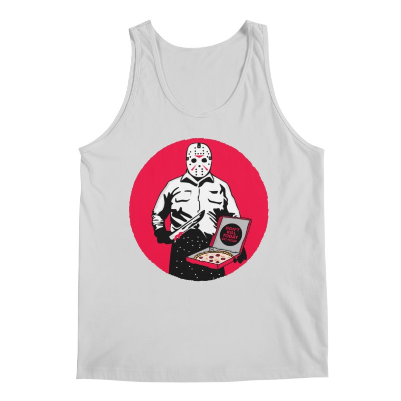 Jason's Pizza Men's Regular Tank by darruda's Artist Shop
