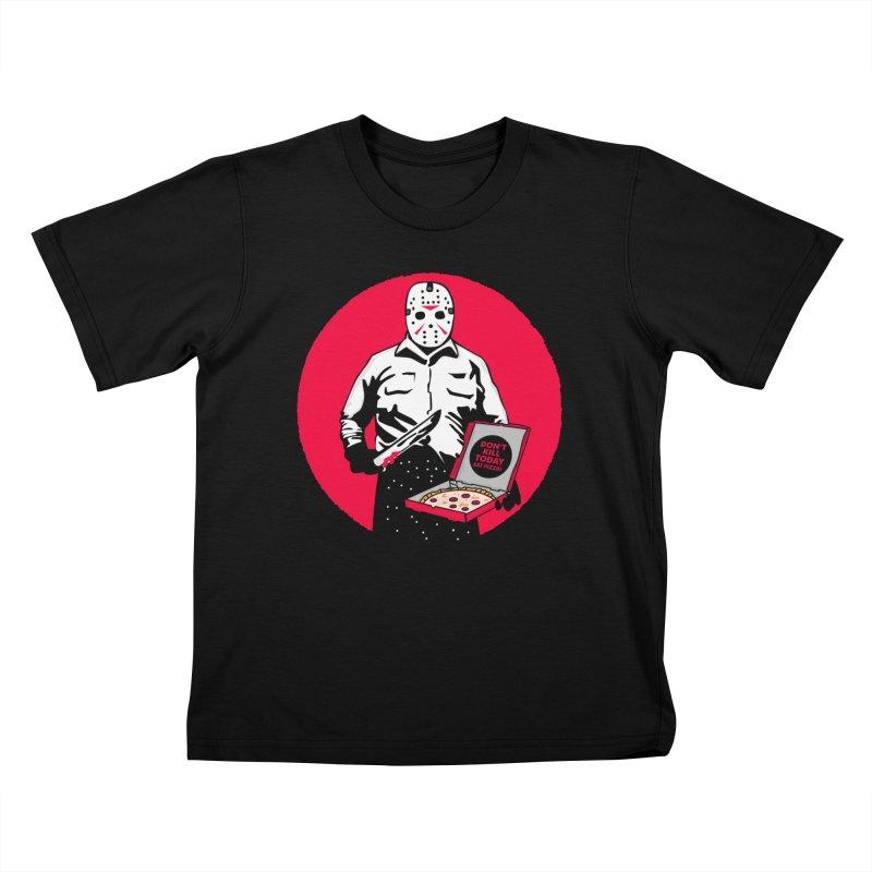 Jason's Pizza Kids T-Shirt by darruda's Artist Shop