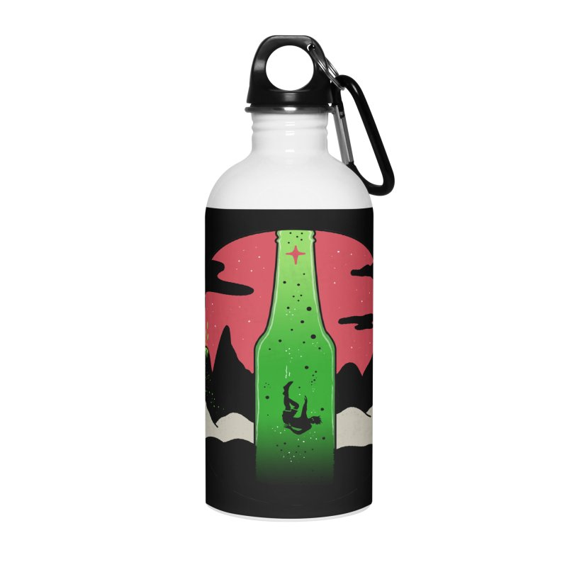 Green Experience Accessories Water Bottle by darruda's Artist Shop