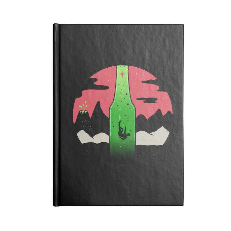 Green Experience Accessories Blank Journal Notebook by darruda's Artist Shop