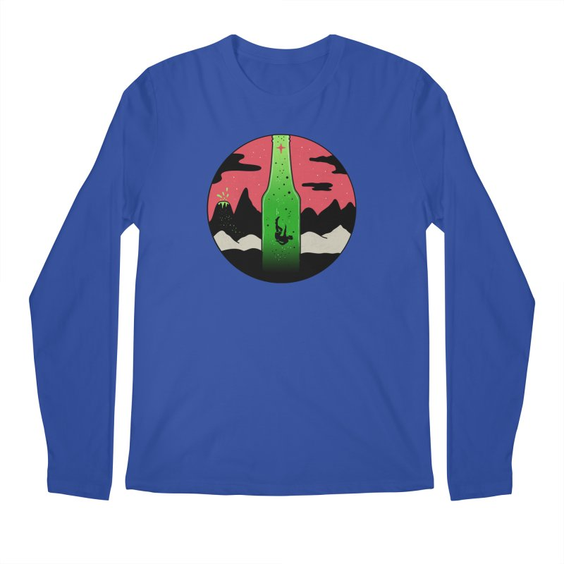Green Experience Men's Regular Longsleeve T-Shirt by darruda's Artist Shop