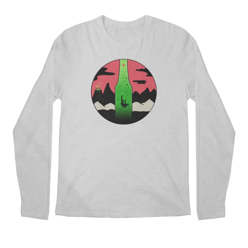 Green Experience Men's Regular Longsleeve T-Shirt by darruda's Artist Shop