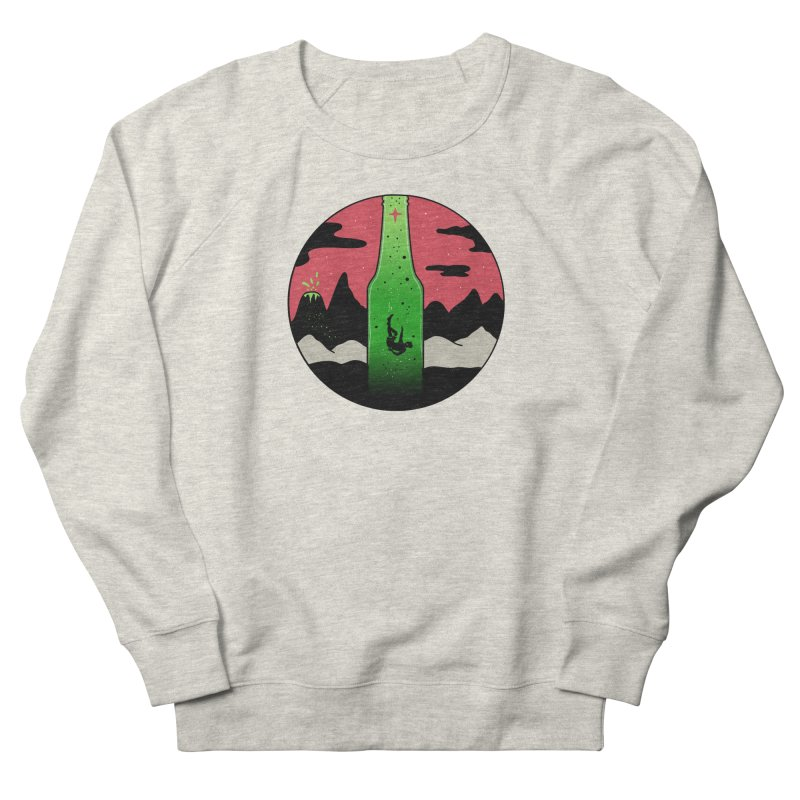 Green Experience Women's French Terry Sweatshirt by darruda's Artist Shop