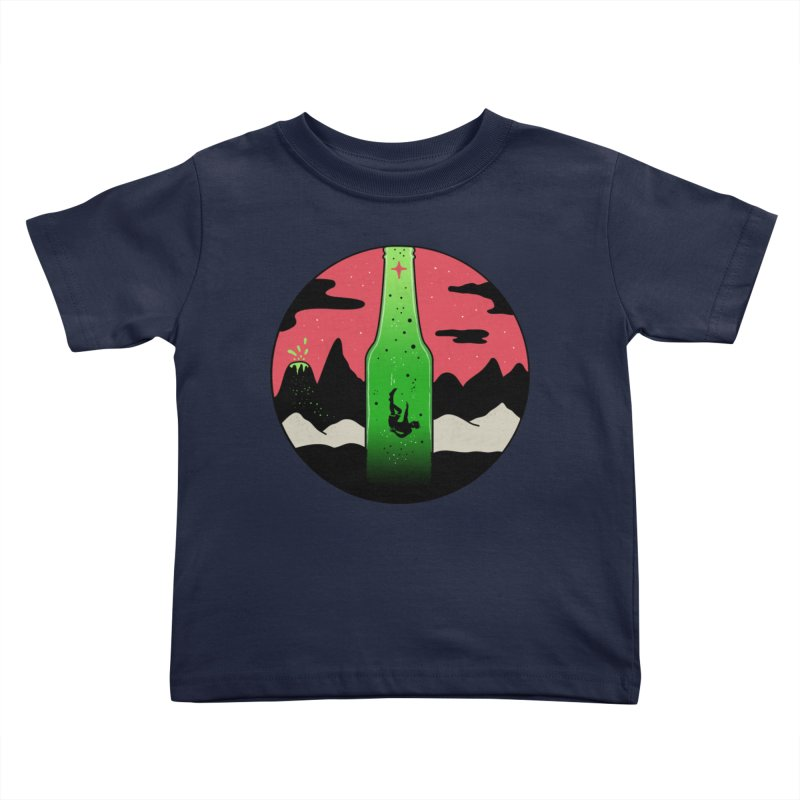 Green Experience Kids Toddler T-Shirt by darruda's Artist Shop