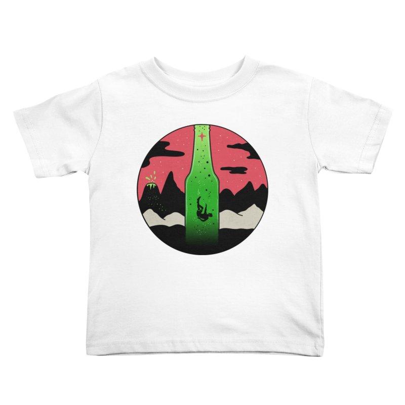 Green Experience Kids Toddler T-Shirt by darruda's Artist Shop