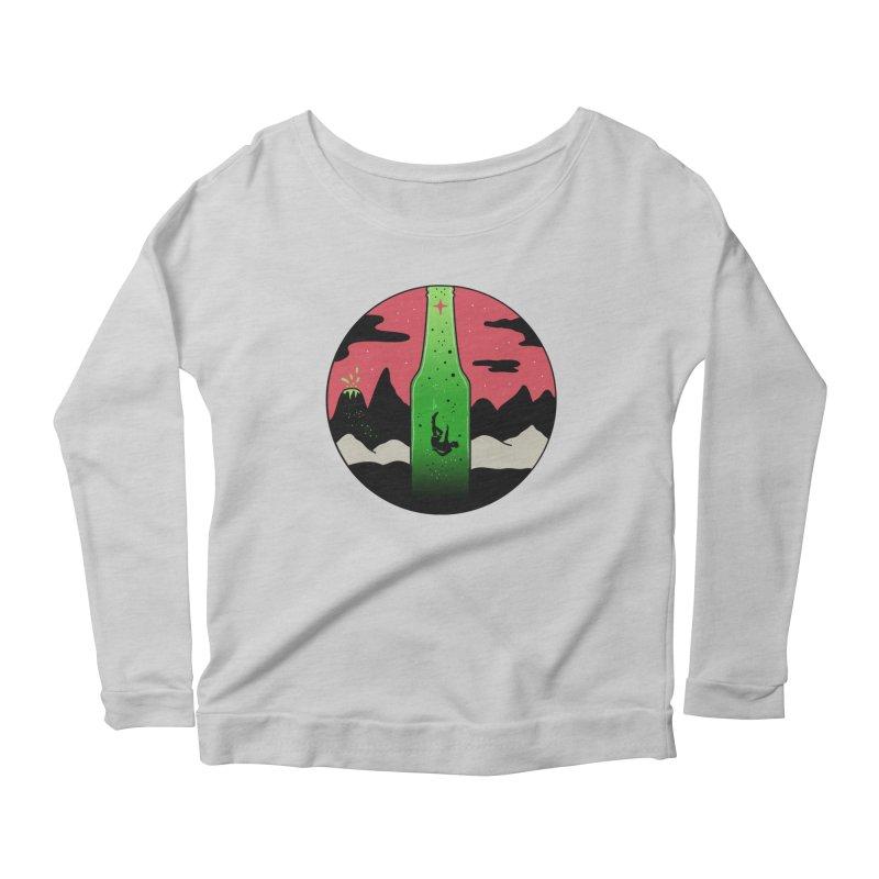 Green Experience Women's Scoop Neck Longsleeve T-Shirt by darruda's Artist Shop
