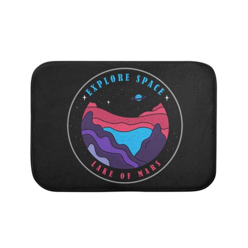 Explore Space Home Bath Mat by darruda's Artist Shop