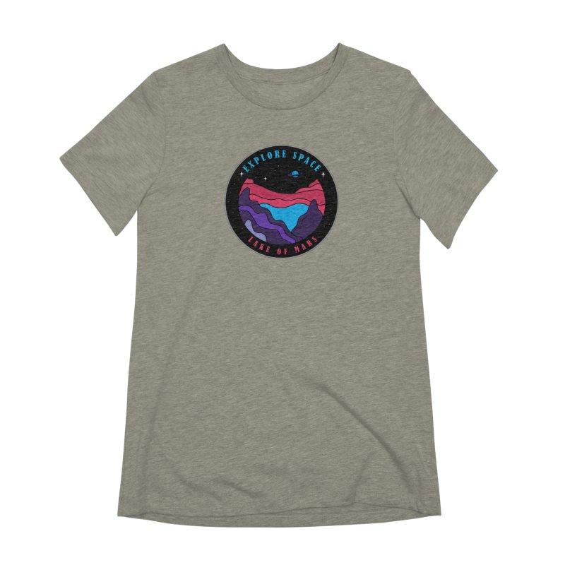 Explore Space Women's Extra Soft T-Shirt by darruda's Artist Shop