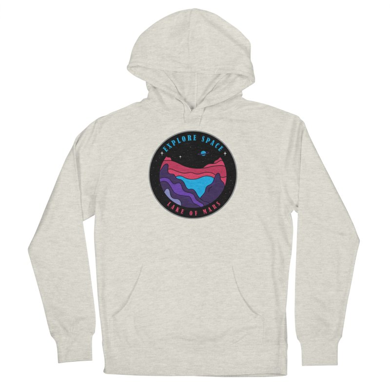 Explore Space Men's French Terry Pullover Hoody by darruda's Artist Shop