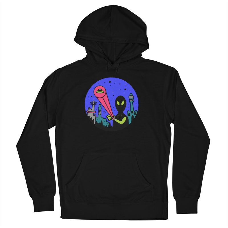 Calling Home Men's French Terry Pullover Hoody by darruda's Artist Shop