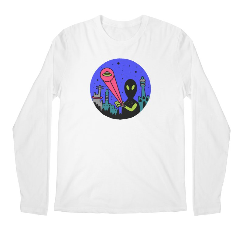 Calling Home Men's Regular Longsleeve T-Shirt by darruda's Artist Shop