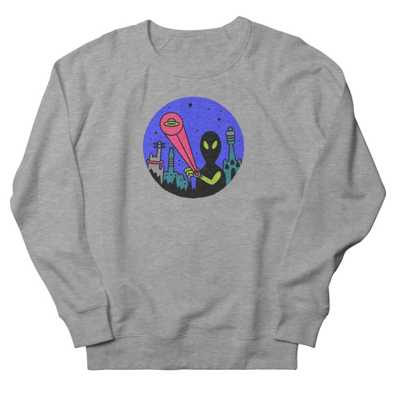 Calling Home Women's French Terry Sweatshirt by darruda's Artist Shop