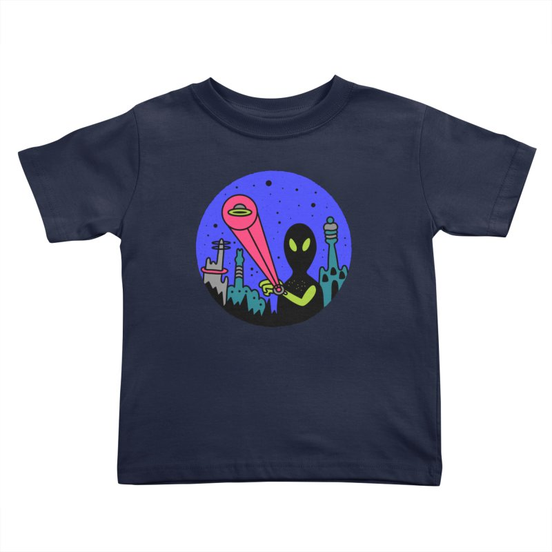 Calling Home Kids Toddler T-Shirt by darruda's Artist Shop