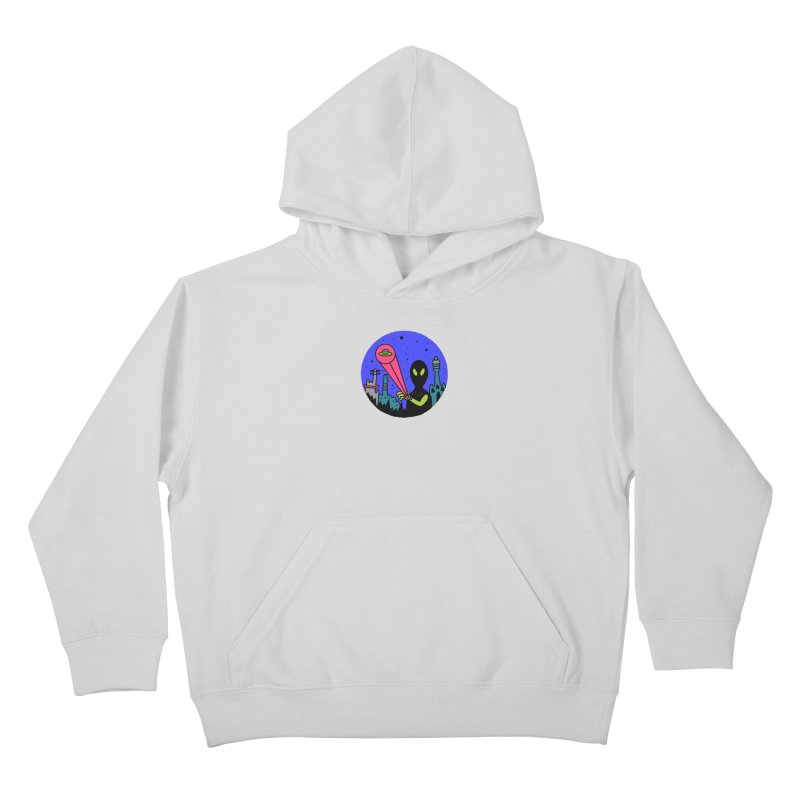 Calling Home Kids Pullover Hoody by darruda's Artist Shop