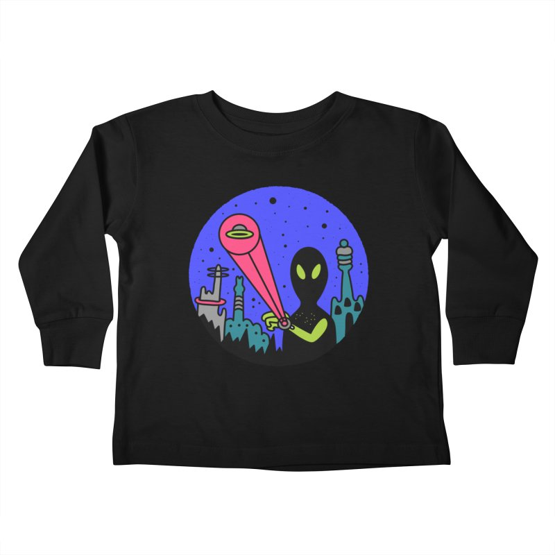 Calling Home Kids Toddler Longsleeve T-Shirt by darruda's Artist Shop