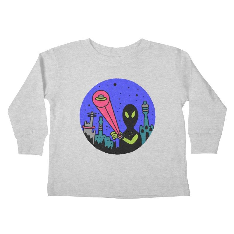 Calling Home Kids Toddler Longsleeve T-Shirt by darruda's Artist Shop