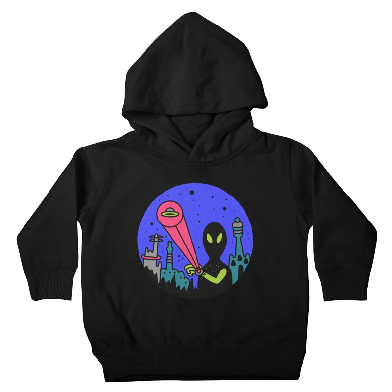 Calling Home Kids Toddler Pullover Hoody by darruda's Artist Shop