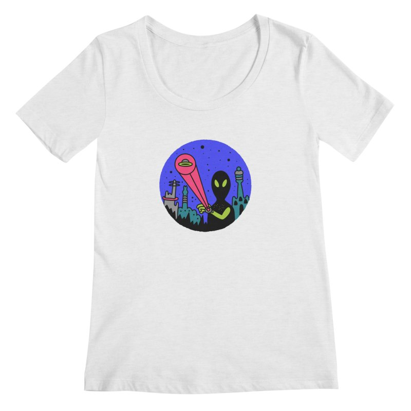 Calling Home Women's Regular Scoop Neck by darruda's Artist Shop