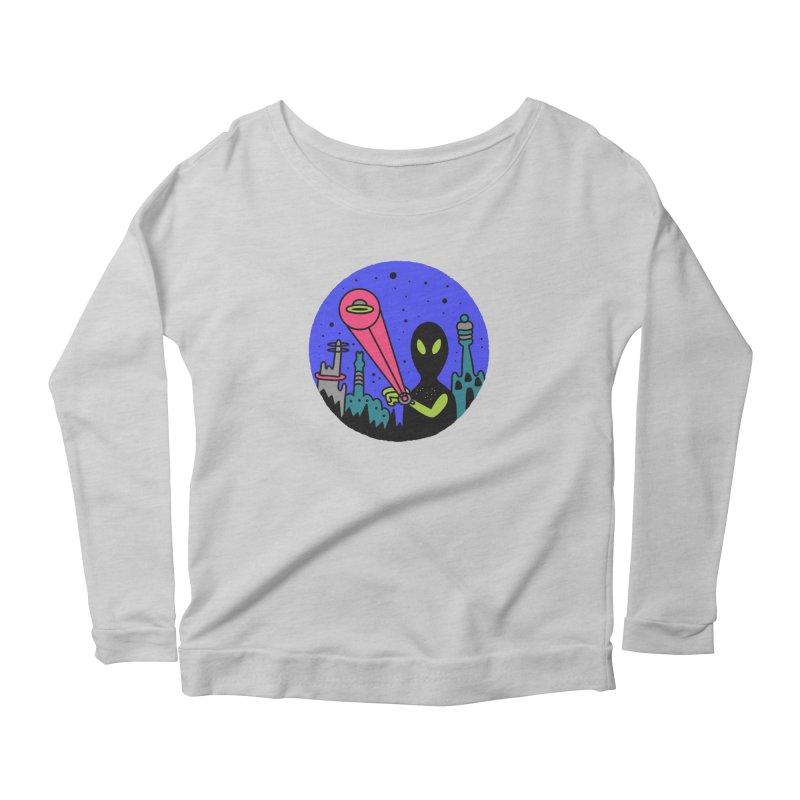 Calling Home Women's Scoop Neck Longsleeve T-Shirt by darruda's Artist Shop