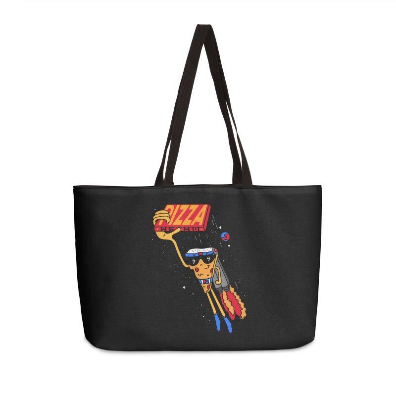 Pizza Hero Accessories Weekender Bag Bag by darruda's Artist Shop