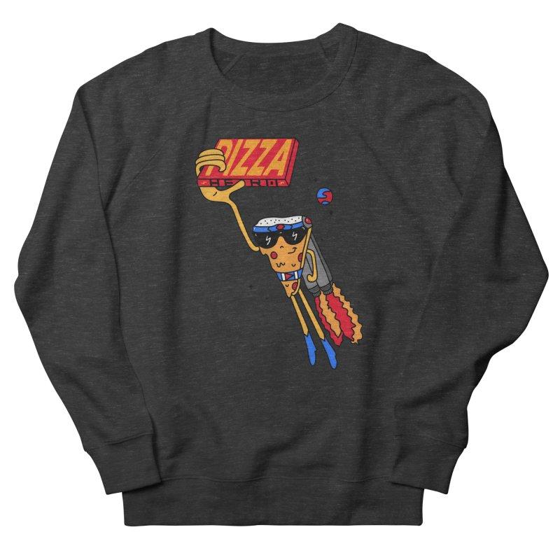 Pizza Hero Women's French Terry Sweatshirt by darruda's Artist Shop
